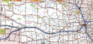 nebraska road map