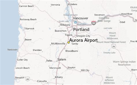 map of oregon airports airport weather station record historical weather