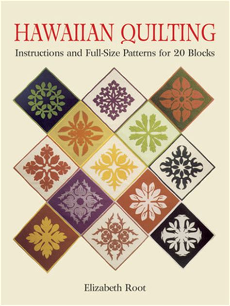 hawaiian quilting and size patterns for