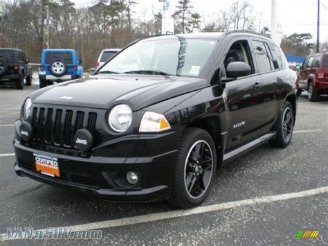 jeep compass 2007 2007 jeep compass black 200 interior and exterior images