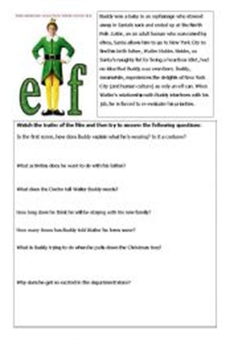 printable elf trivia questions 8 best images of elf movie trivia printable christmas