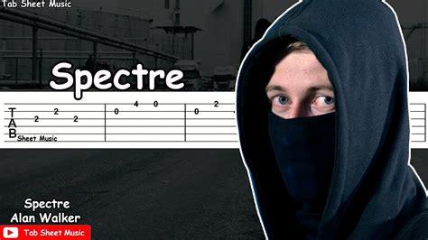 alan walker spectre chords alan walker spectre guitar tutorial youtube