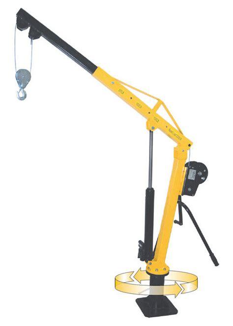 Lu Mobil Jip powder coated hw1000 manual jib crane 1000 kg capacity for