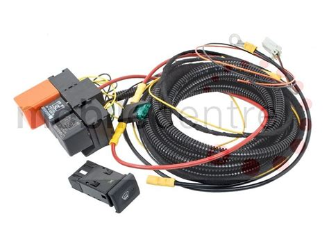 land rover defender heated windscreen wiring kit with oem