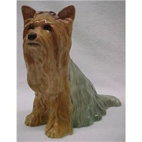 royal doulton porcelain seated yorkshire terrier