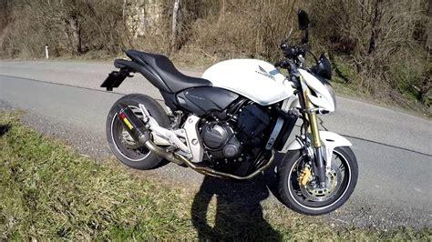 Honda Hornet 600 Pc41 Tieferlegung by Honda Hornet Pc41 Akrapovic Ohne Kat Db Killer Youtube