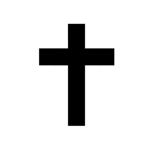plain black cross tattoo 37 best solid cross images on