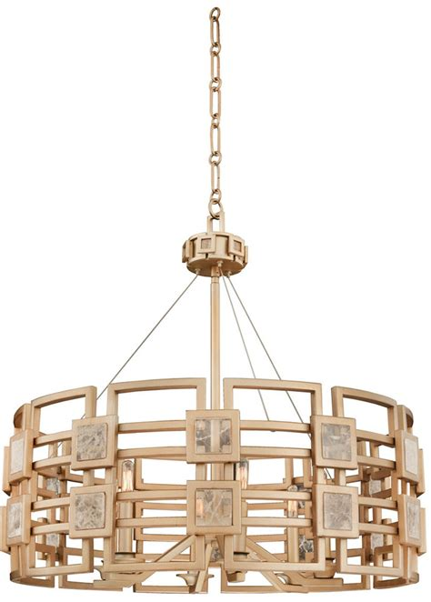 Suspended Ceiling Light Fixture Kalco 500651mg Metropolis Modern Modern Gold Drop Ceiling Light Fixture Kal 500651mg