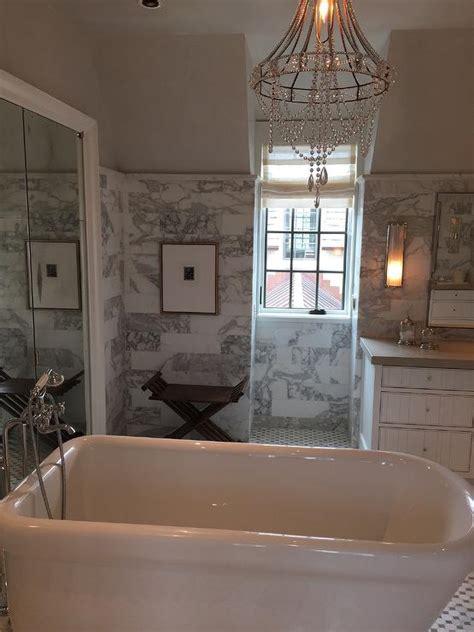 bathroom with hidden toilet transitional bathroom