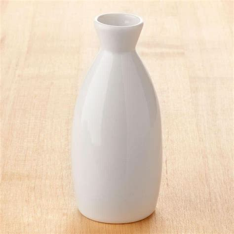 Town 51400 4.5 oz. Ceramic Sake Bottle   12/Pack