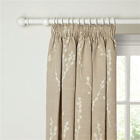 john lewis curtains pencil pleat buy john lewis croft collection catkin lined pencil pleat