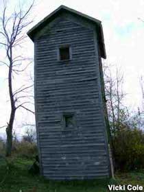 two story outhouse has a savior roadside america