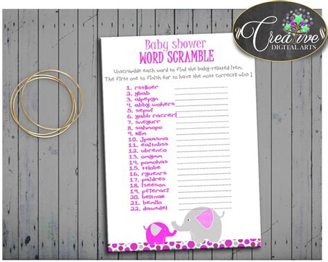 Baby Shower Unscramble by 25 Best Ideas About Unscramble Words On Word