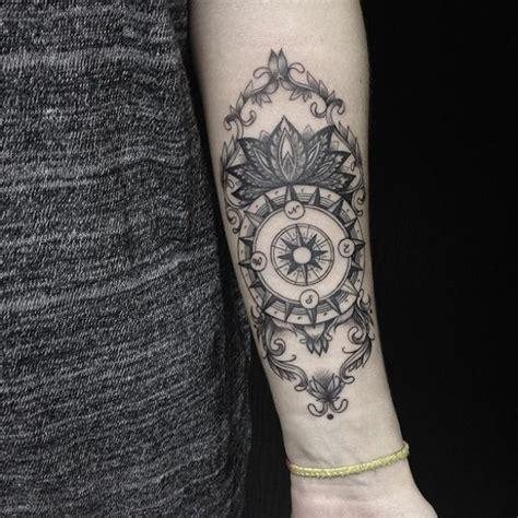 compass tattoo russian linhas e formas perfeitas nas tatuagens de sasha masiuk