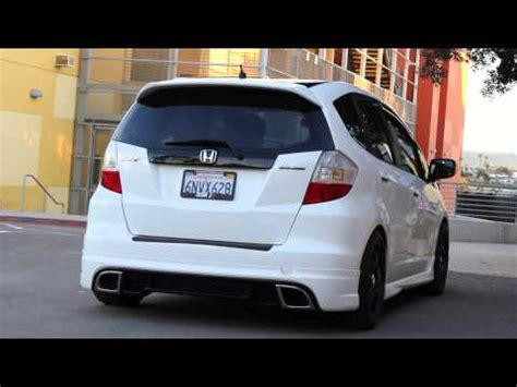 2011 mugen fit jazz rs youtube 2011 honda fit mugen sport with header down pipe doovi