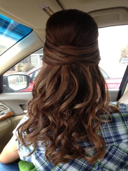 twist and curled hair for prom hairstyles weekly formal hairstyles for long hair pinterest tes