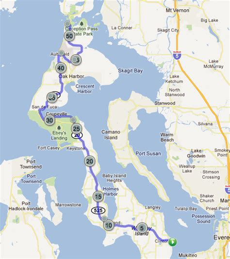 whidbey island map cycling whidbey island bike around the world
