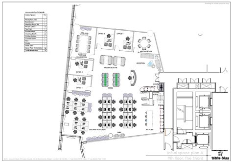 the shard floor plans the shard part 9th floor office for rent