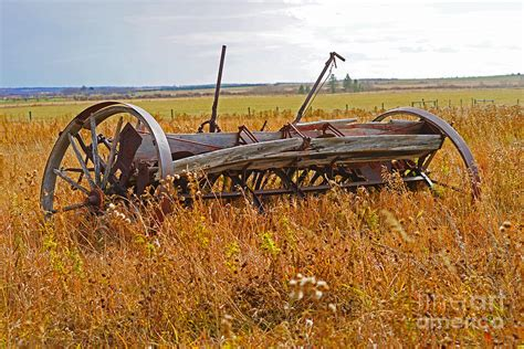 Vintage Home Decor Online by Old Farm Equipment Photograph By Randy Harris