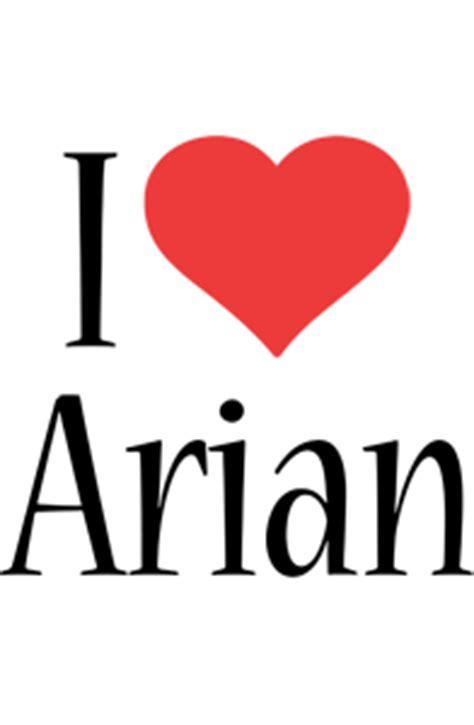 arian love com arian logo name logo generator i love love heart