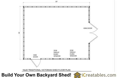 16x20 floor plans 16x20 traditional shed plans build your own large shed
