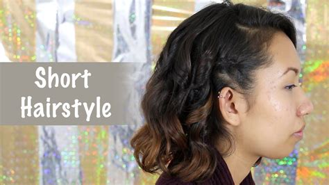 hairstyles everyday for medium hair quick everyday hairstyle for short hair bobs all things