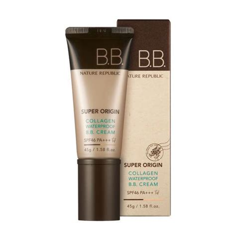 Skin Aqua Bb Spf27 nature republic origin collagen waterproof bb