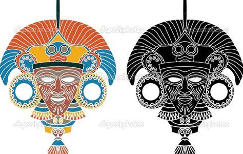 aztec mask template aztec mask patterns prints