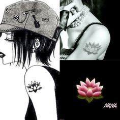 lotus tattoo nana osaki nana lotus tattoo nana pinterest lotus