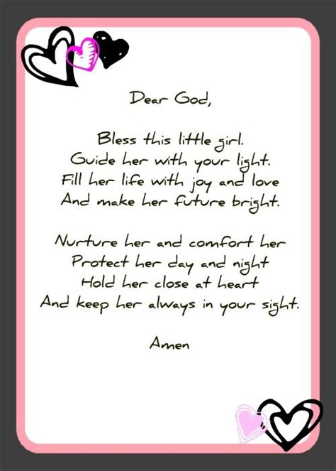 printable baptism quotes good poem for baptism page too baby shower prayer cards