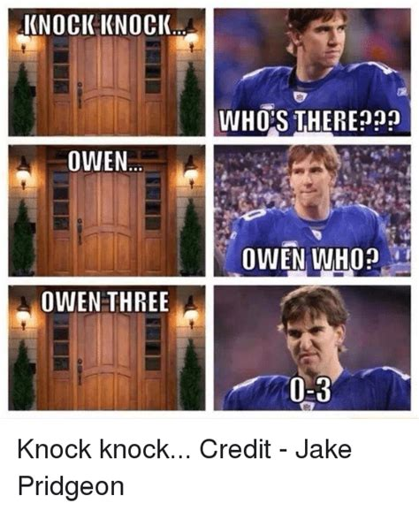 Knock Knock Whos There Cancer by Knock Knock Owen Owen Three Whos There Non Owen Who 0 3