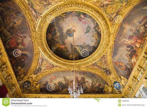 plafond peint du salon de la guerre image stock 233 ditorial