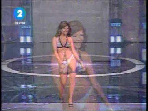 Pamela Silva En Nuestra Belleza Youtube