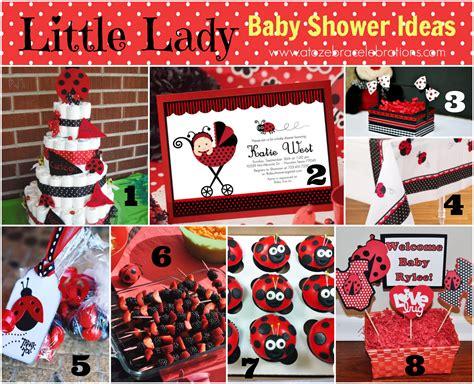Popular Baby Shower Themes 2014 by Ladybug Baby Shower Ideas A To Zebra Celebrations