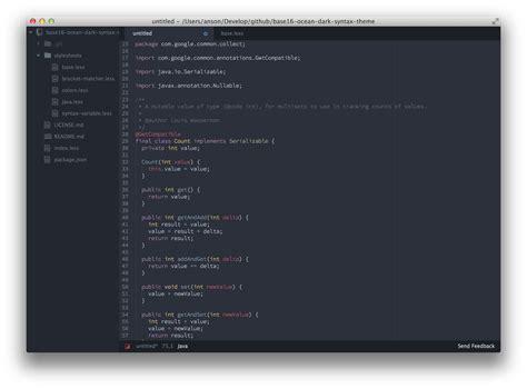 java themes net atom javascript editor phpsourcecode net