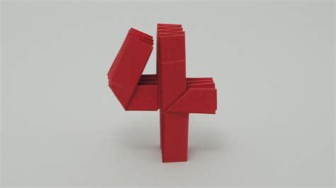 Four Origami - origami number 4