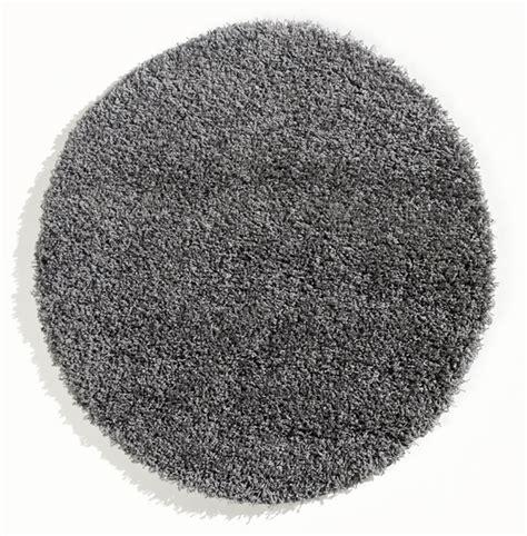 runder teppich grau trend shaggy langflor teppich 640 grau 250 cm rund neu ebay