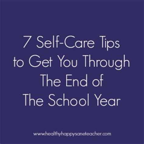 7 Tips For The Best Self by The Healthy Happy Sane Teacherthe Healthy Happy