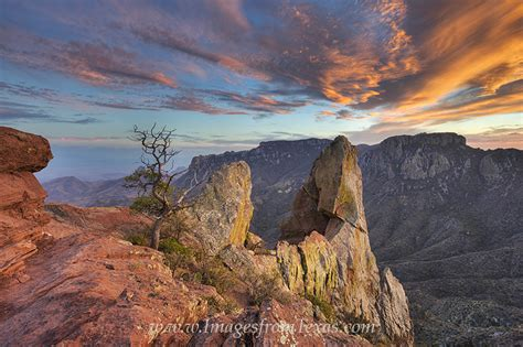 yonderings trails and memories of the big bend books lost mine trail sunset 1 big bend national park images