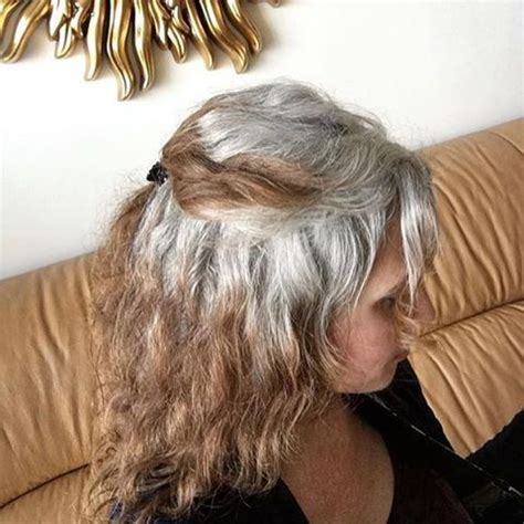 salt and pepper hair with highlights 178 best images about grey hair transitions on pinterest