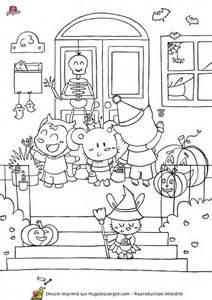 Coloriage D Halloween 224 Imprimer Gratuitement