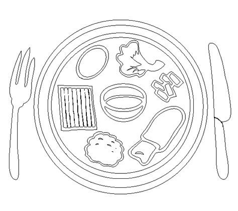 empty colored plate coloring page coloring pages