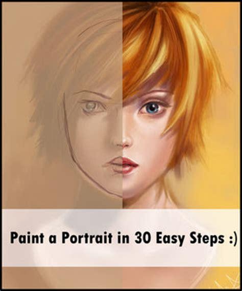 tutorial photoshop portrait coolest photoshop tutorials photoshop portrait painting