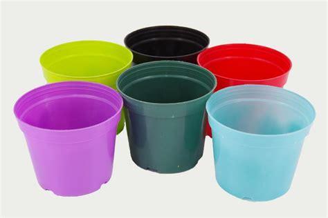Large Colorful Planters by Garden Large Coloured Plastic Plant Pots Flower Pot For