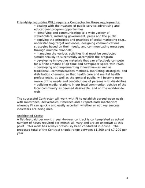 Template Public Relations Rfp Relations Rfp Template