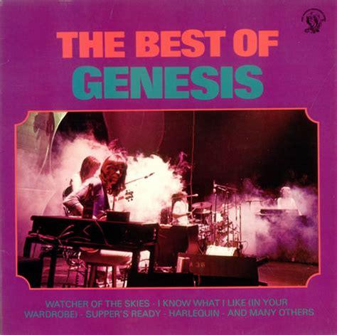 genesis best of genesis the best of genesis vinyl lp album lp