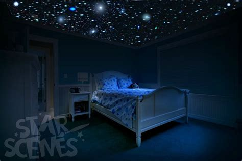 glow in the room idea diy ceiling by