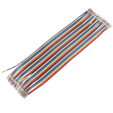 Jumper To 40 Pin 20 Cm k 248 b 40 x 20cm dupont reed jumper wire kabel til bazaargadgets