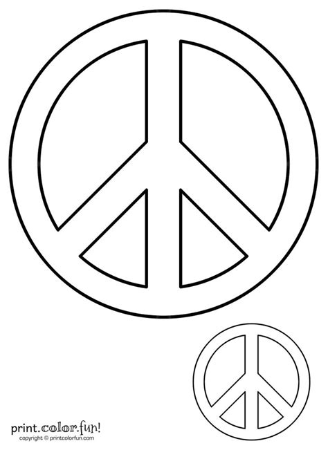 peaceful patterns coloring pages peace sign print color fun free printables coloring