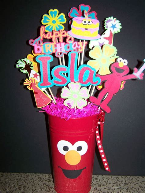 Elmo Centerpieces Decorations 123 Best Images About Makennas 2nd Birthday On
